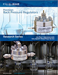 back pressure regulator details for low flow applications