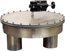 HV Series high flow low pressure vacuum and back pressure regulator